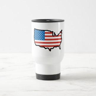 I Love America - United States Flag Travel Mug