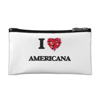 I Love Americana Makeup Bag