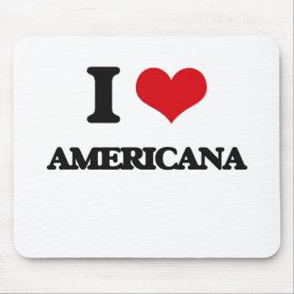 I Love Americana Mousepad