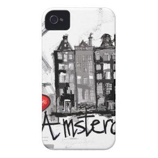I love Amsterdam iPhone 4 Case-Mate Case