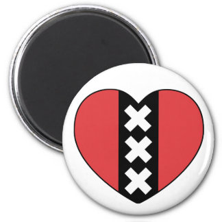 I LOVE AMSTERDAM magnet By Amsterdamned