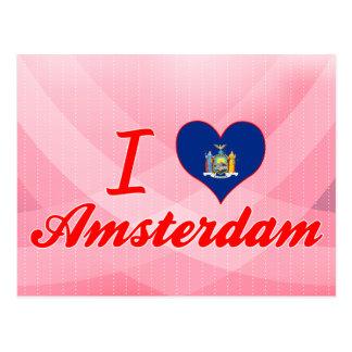 I Love Amsterdam, New York Postcards