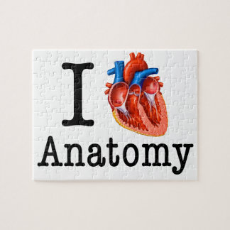 I love Anatomy Jigsaw Puzzle