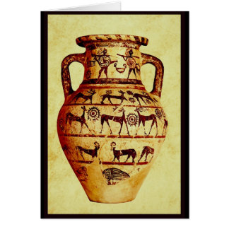 I love Ancient Pottery Card