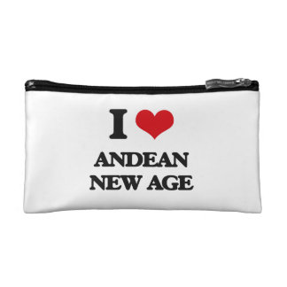 I Love ANDEAN NEW AGE Makeup Bag