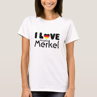 I love Angela Merkel | T-shirt
