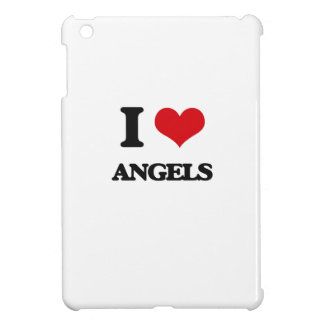 I Love Angels iPad Mini Case