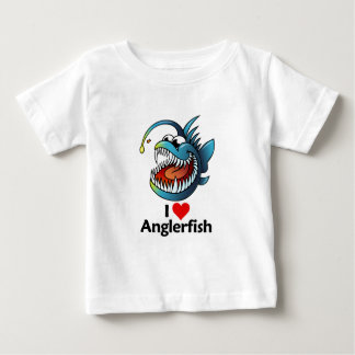 I Love Anglerfish Baby T-Shirt