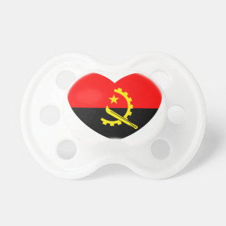 I LOVE ANGOLA BABY PACIFIER