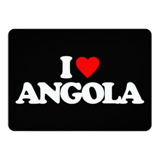 I LOVE ANGOLA CUSTOM INVITES
