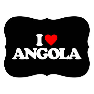 I LOVE ANGOLA CARD