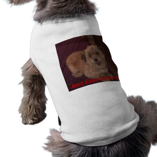 I love Animals Dog Shirt
