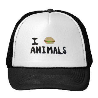 I Love Animals Mesh Hats
