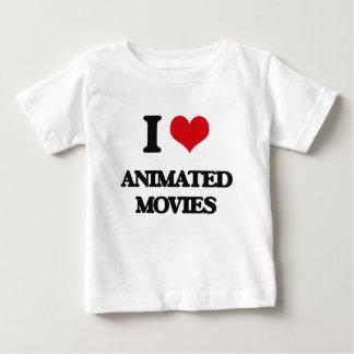 I love Animated Movies T Shirts