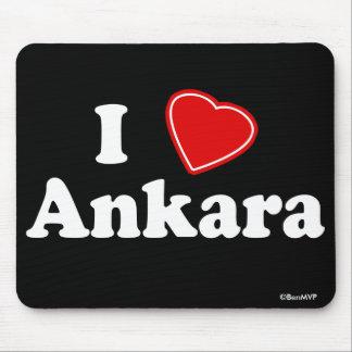 I Love Ankara Mouse Pad