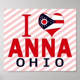 I love Anna, Ohio Print