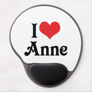 I Love Anne Gel Mouse Pad