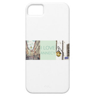 """I Love Annecy"" Case-Mate iPhone 5/5S Case"