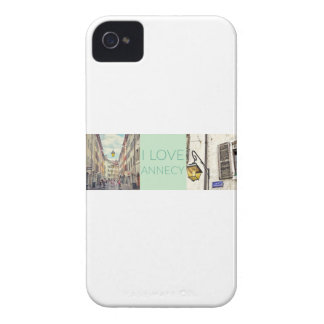 """I Love Annecy"" iPhone 4 Case Barely There"