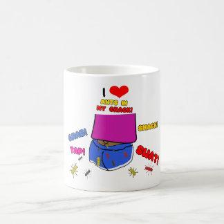 I Love Ants in My Crack Coffee Mug
