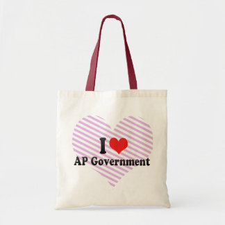I Love AP Government Bags