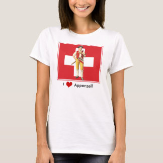 I Love Appenzell - Colorful Ethno Swiss T-Shirt