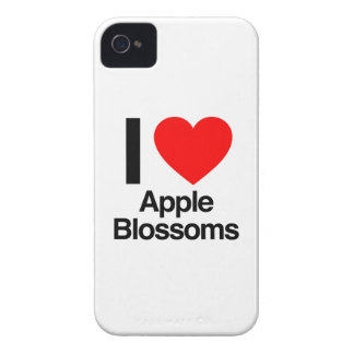 i love apple blossoms iPhone 4 Case-Mate cases