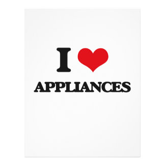 I Love Appliances Custom Flyer