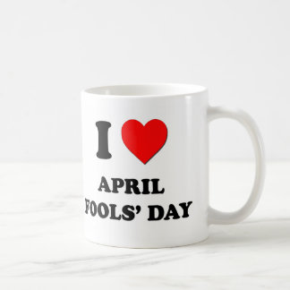 I Love April Fools' Day Mug