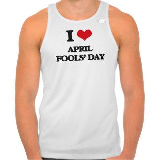 I Love April Fools' Day Tshirts
