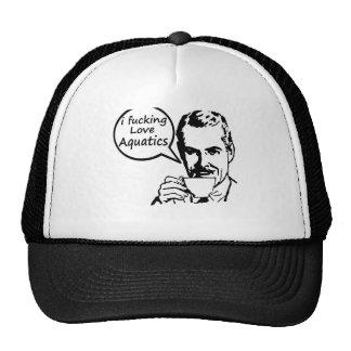 I Love Aquatics. Trucker Hats