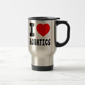 I Love Aquatics Mug