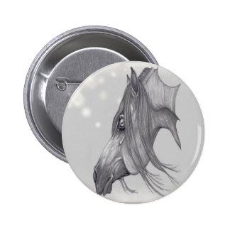 I Love Arabians Arabian Horse Art Button