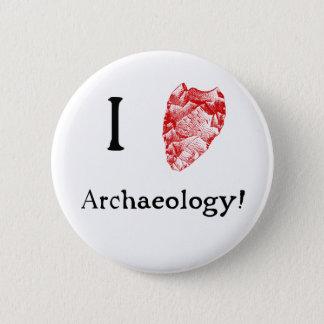 I Love Archaeology Badge