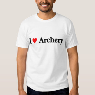 I love Archery Tee Shirt