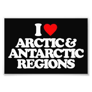 I LOVE ARCTIC & ANTARCTIC REGIONS PHOTO ART
