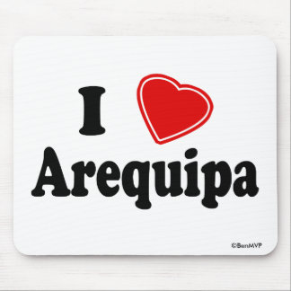 I Love Arequipa Mouse Pad