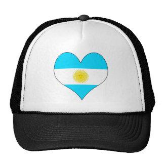 I Love Argentina Mesh Hat