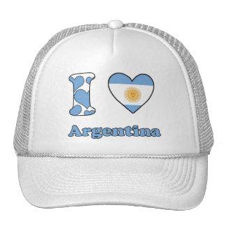 I love Argentina Cap