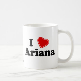 I Love Ariana Coffee Mug