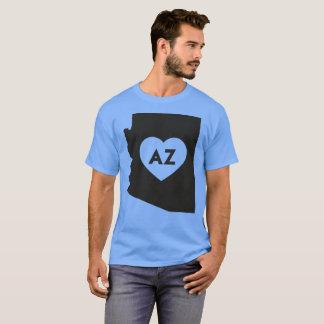 I Love Arizona State Men's Basic Dark T-Shirt