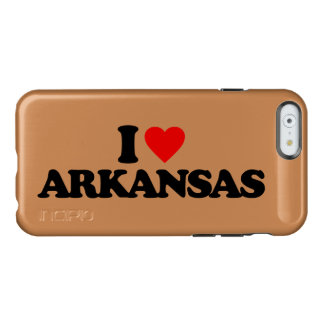 I LOVE ARKANSAS INCIPIO FEATHER® SHINE iPhone 6 CASE
