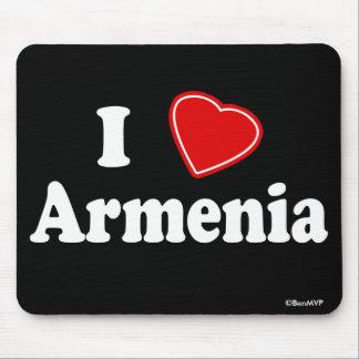 I Love Armenia Mouse Pad