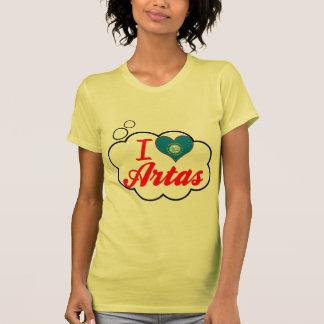 I Love Artas, South Dakota Tee Shirt