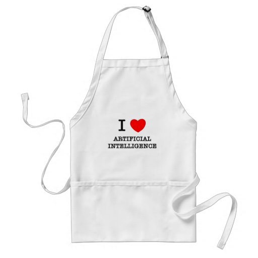 I Love Artificial Intelligence Apron