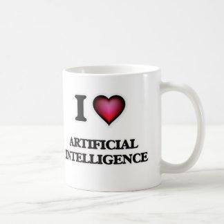 I Love Artificial Intelligence Coffee Mug