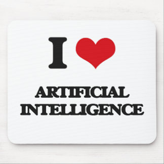 I Love Artificial Intelligence Mousepad