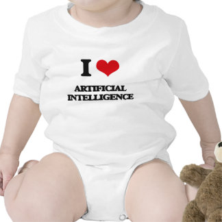 I Love Artificial Intelligence Baby Bodysuit