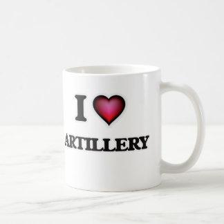 I Love Artillery Coffee Mug