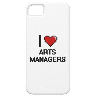 I love Arts Managers iPhone 5 Case